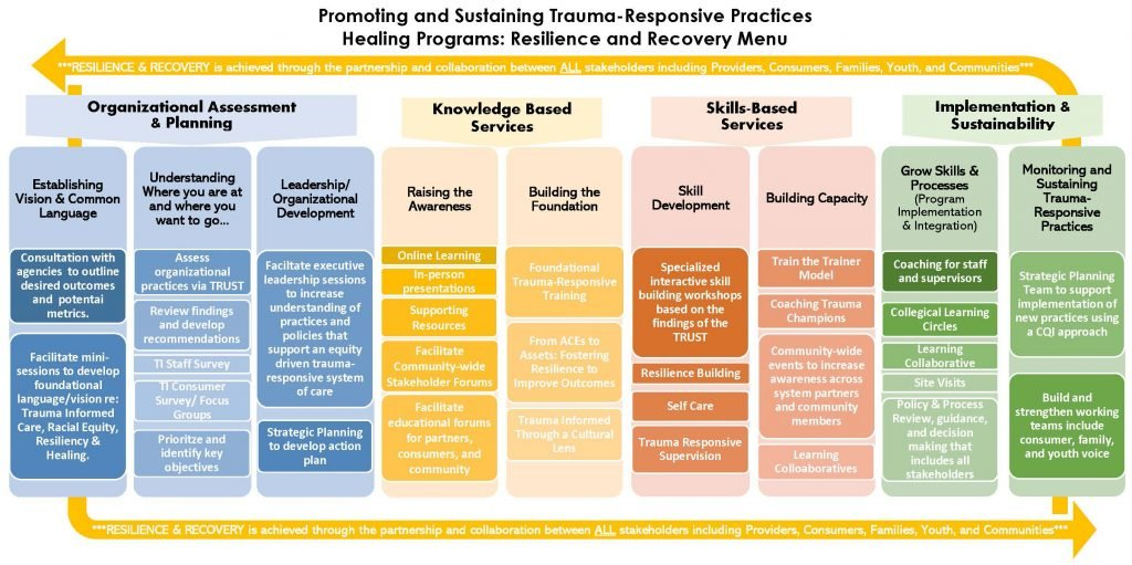 Promoting and Sustaining Trauma-Responsive Practices